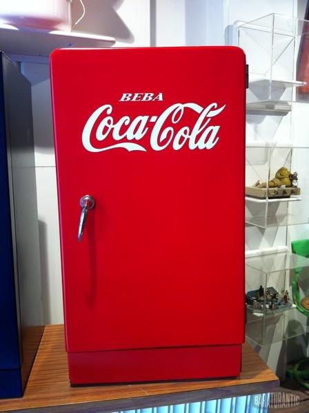 antigua nevera heladora cocacola pepsi muebles vintage On nevera retro coca cola