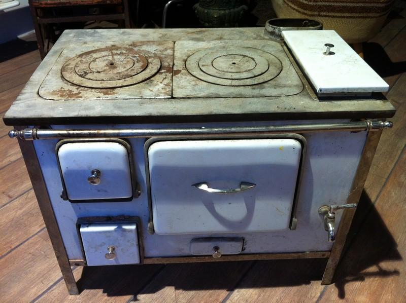 Antigua cocina econ mica esmaltada muebles vintage for Cocina economica