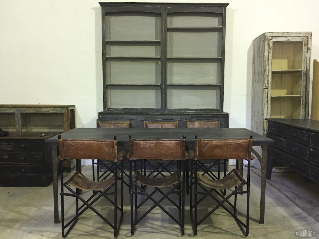 Conjunto Salón Comedor - Muebles Vintage Industrial Vintage Home ...