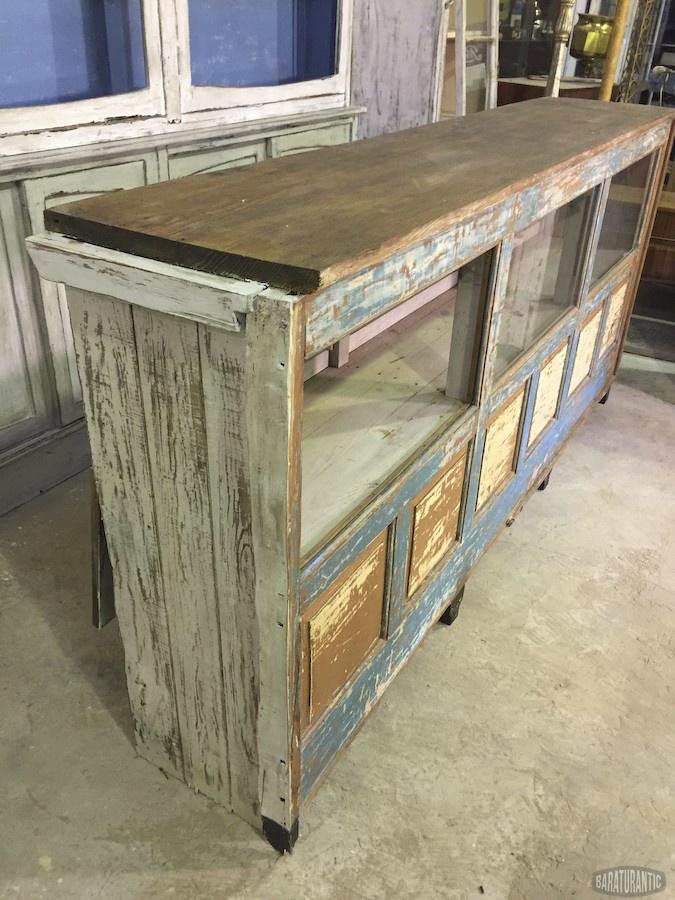 antiguo mostrador de ultramarinos muebles vintage